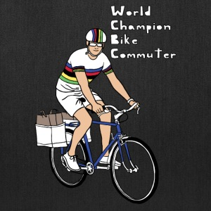 world champion bike commuter Bags & backpacks - Tote Bag