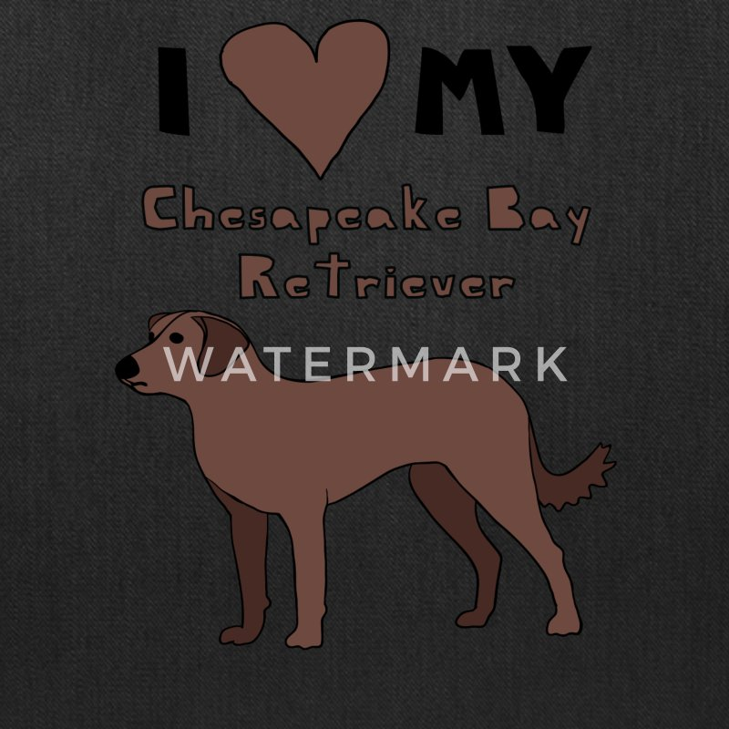i heart my chesapeake bay retriever Bags & backpacks - Tote Bag