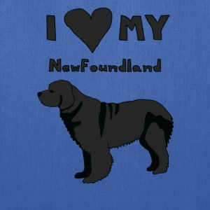 i heart my newfoundland Bags & backpacks - Tote Bag
