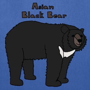 asian black bear Bags & backpacks - Tote Bag