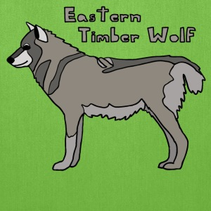 eastern timber wolf Bags & backpacks - Tote Bag