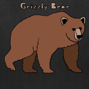 grizzly bear Bags & backpacks - Tote Bag