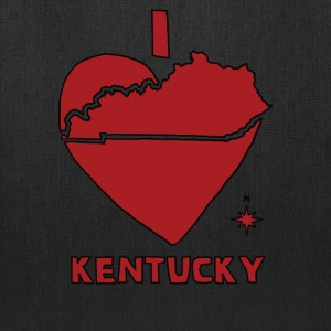 i heart Kentucky (red) Bags & backpacks - Tote Bag