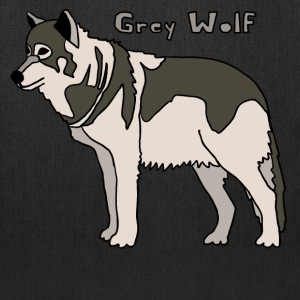 grey wolf Bags & backpacks - Tote Bag