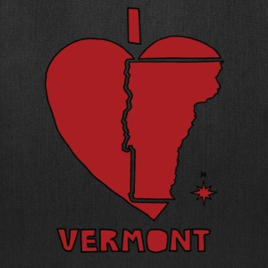 i heart Vermont (red) Bags & backpacks - Tote Bag