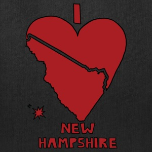 i heart New Hampshire (red) Bags & backpacks - Tote Bag