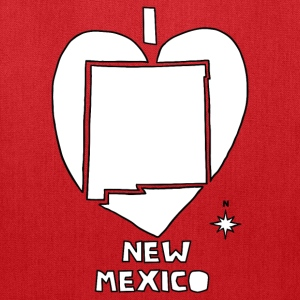 i heart New Mexico (red) Bags & backpacks - Tote Bag