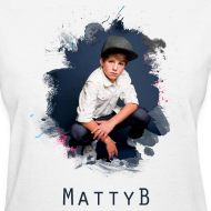 Design ~ MattyB Splash Womens T-Shirt