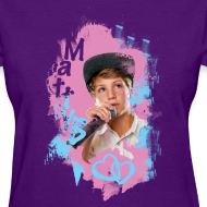 Design ~ MattyB Neon Womens T-Shirt