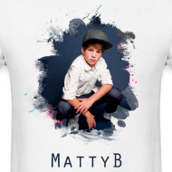 Design ~ MattyB Splash Mens T-Shirt