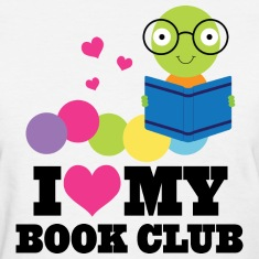 Book Club I Heart Cute Women's T-Shirts