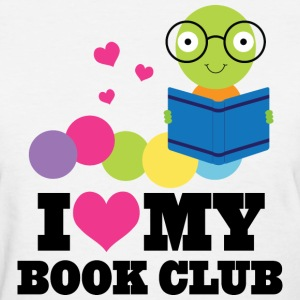 Book Club I Heart Cute Women's T-Shirts - Women's T-Shirt