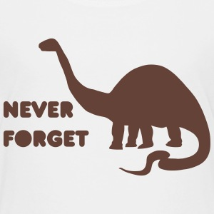 never forget dino Baby & Toddler Shirts - Toddler Premium T-Shirt