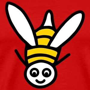 Flying bee - V3 T-Shirts - Men's Premium T-Shirt