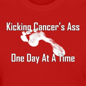 Kicking Cancer's Ass Women's T-Shirts - Women's T-Shirt