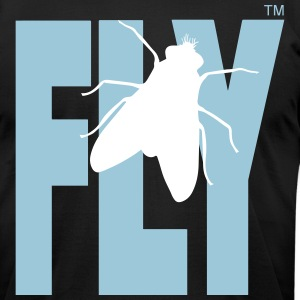 FLY T-Shirts - Men's T-Shirt by American Apparel