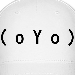 Big Tits (oYo) Boobs Sexy Text Emoticon Caps - Baseball Cap