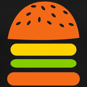 simple burger meat patty burgers T-Shirts - Men's Premium T-Shirt