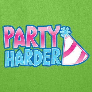 Party harder with a cute parties hat Bags & backpacks - Tote Bag