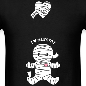 Mummy Maternity Halloween T-Shirts - Men's T-Shirt