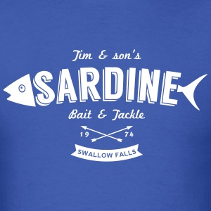 Sardine bait and tackle - Men's T-Shirt
