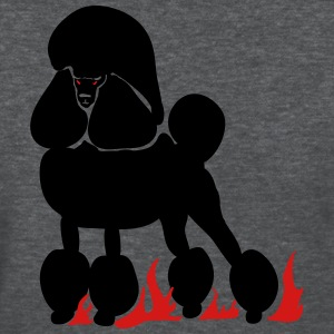 Mephistopheles, the Demon Poodle - Women's T-Shirt