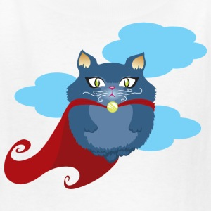 cat superhero Kids' Shirts - Kids' T-Shirt