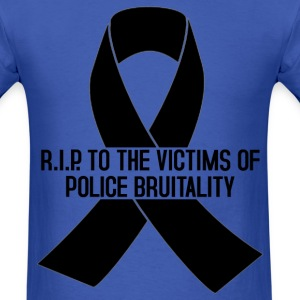 RIP VICTIMS OF POLICE BRUTALITY T-Shirts - Men's T-Shirt