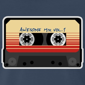 Mix Tape Awesome Vol.1 T-Shirts - Men's Premium T-Shirt
