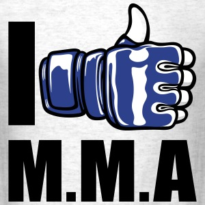 I like MMA - Men's T-Shirt