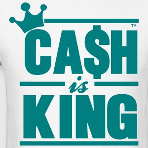 CASH IS KING - Men's T-Shirt