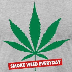 SMOKE WEED EVERYDAY - Men's T-Shirt by American Apparel