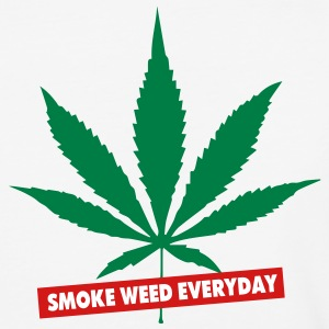 SMOKE WEED EVERYDAY - Baseball T-Shirt
