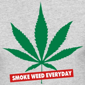 SMOKE WEED EVERYDAY - Men's Long Sleeve T-Shirt by Next Level