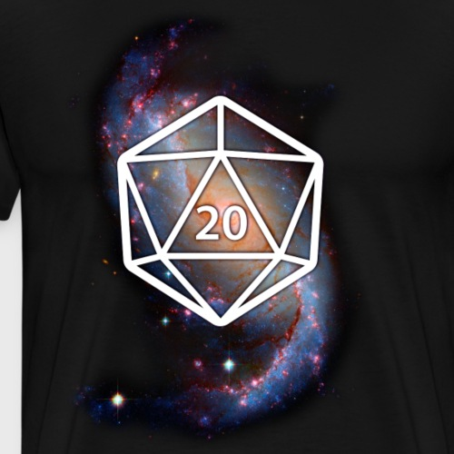 Astronomy Geek d20 Galaxy