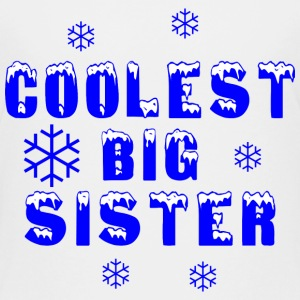 Coolest Big Sister  - Kids' Premium T-Shirt