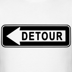 Detour T-Shirts - Men's T-Shirt