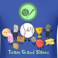 Design ~ Men's Grand Slams T-Shirt