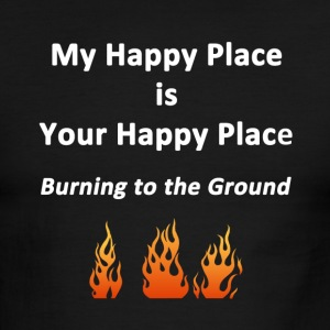 My Happy Place - Men's Ringer T-Shirt