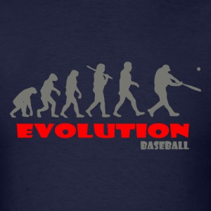 Baseball ape of Evolution - Men's T-Shirt