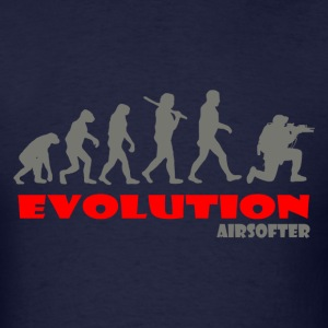 Airsofter ape of Evolution Airsoft - Men's T-Shirt