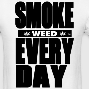 SMOKE WEED EVERYDAY - Men's T-Shirt