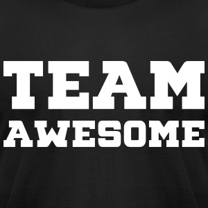 Team Awesome T-Shirts - Men's T-Shirt by American Apparel