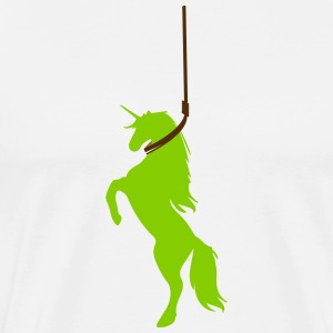 The Last depressed Unicorn - Men's Premium T-Shirt