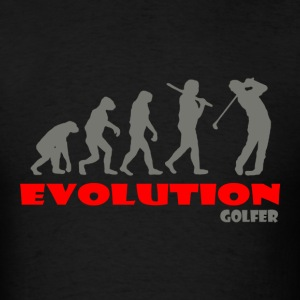 Golfer Golf ape of Evolution - Men's T-Shirt
