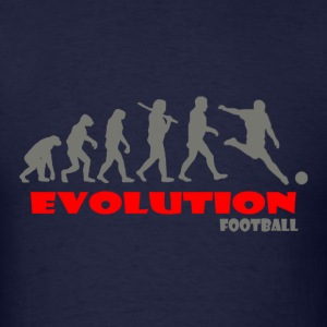 Football ape of Evolution - Men's T-Shirt
