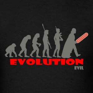 Evolution of Evil - Men's T-Shirt