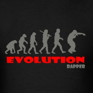 Rapper Rap ape of Evolution - Men's T-Shirt
