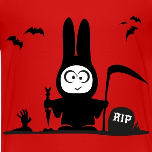 halloween rabbit bat bunny grave horror Kids' Shirts - Kids' Premium T-Shirt