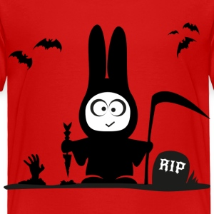 halloween rabbit bat bunny grave horror Baby & Toddler Shirts - Toddler Premium T-Shirt